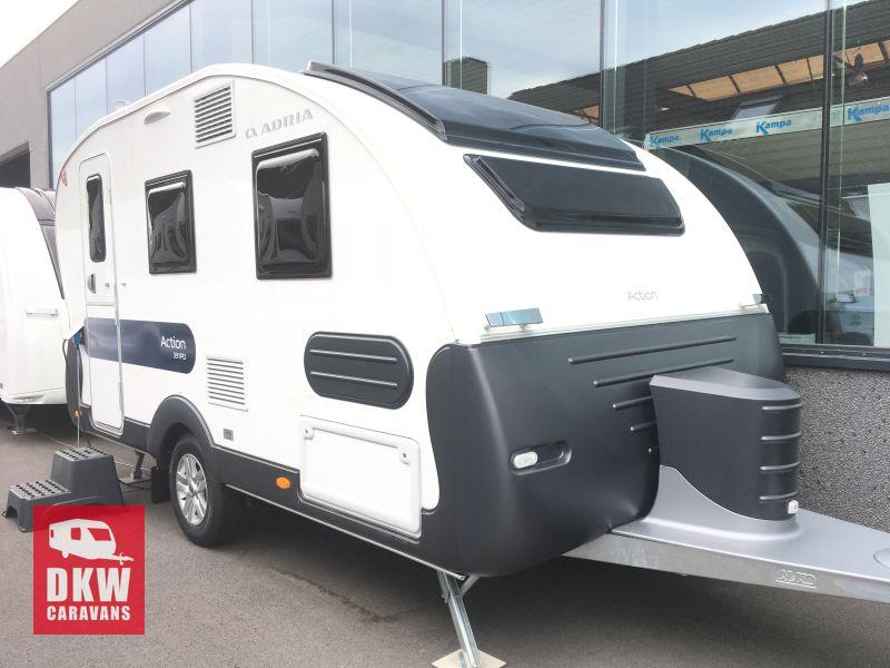 ADRIA ACTION 391 PD nieuw en beschikbaar   DKW Caravans